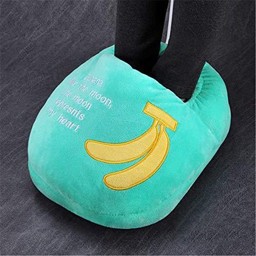 NIGHT WALL Heizung Füße elektrische Heizung Schuhe Büro im Innenbereich, Banane - Elektrische Banane