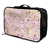 Qurbet Reisetaschen,Reisetasche, Travel Lightweight Waterproof Foldable Storage Carry Luggage Duffle...