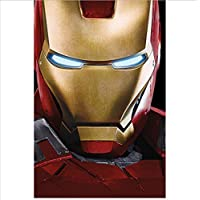 Aiopjkl Marvels Avangers Ironman Poster Wall Canvas Decorations Living Room Painting No Frame 40X60Cm Without Farme