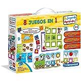Clementoni - Kit 8 juegos en 1, juego educativo (65600.4)