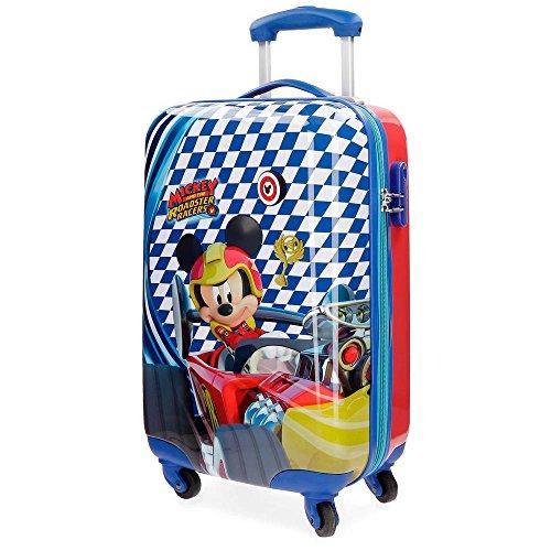 Mickey Race Kindergepäck, 55 cm, 33 liters, Multicolor
