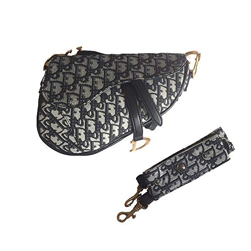 Designer Tasche (Yoome Damen Designer-Schultertasche mit Nietengriff, Handtasche Crossbody-Clutch)