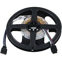 SODIAL(R) 3M Tira 90 5050 SMD LED RGB + Remoto de 24 Teclas Set Cadena Hilo