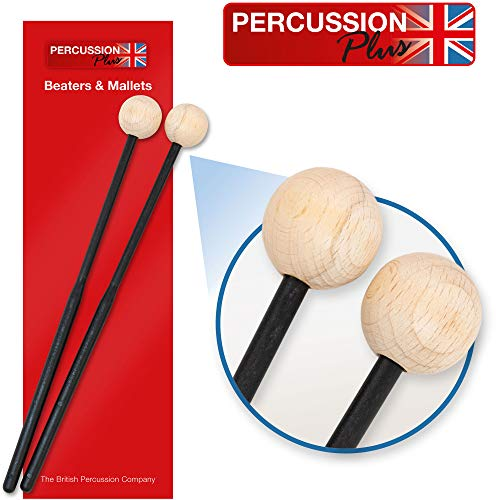 Percussion Plus PP069 Wooden Headed Mallets for Xylophones or Woodblocks