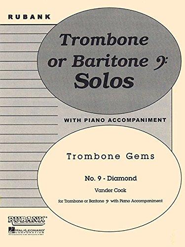 Diamond (Trombone Gems No. 9): Trombone (Baritone B.C.) Solo with Piano - Grade 3