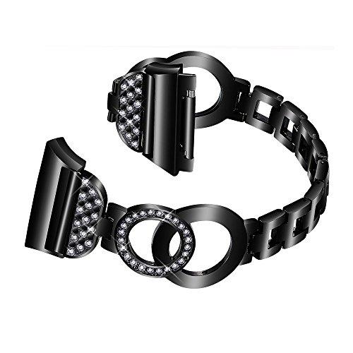 Nigaee Cinturino Gear S3 Frontier Samsung Gear S3 Frontier Cinturino for Samsung Gear S3 Watch, Samsung Gear S3 Classic Gear 2 R380 R381 R382, Moto 360 2 46mm Smartwatch Shouzuo Black