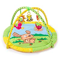 Aiyoudemutou Kick and Play, Baby Play Mat, Suitable From Birth, with Frame Nursery Sensory Items Suitable From Birth