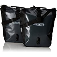 Ortlieb Bolsa Delantera-Roller Classic QL2, 1 Gris-Negro, 25 x 14 x 30 cm, 25 litros, F6305