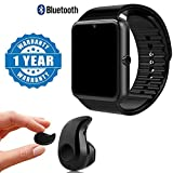 Captcha Bluetooth Smart Watch GT08 Phone With Camera and Sim Card & SD