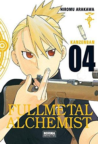 Fullmetal alchemist Kanzenban 4 (CÓMIC MANGA) por Hiromu Arakawa