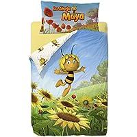 Planeta Junior Abeja Maya - Saco nórdico de 2 piezas para cama de 90 cm