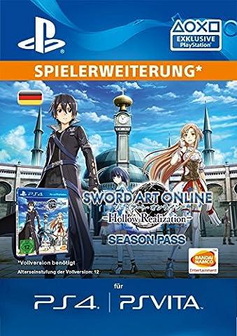 Sword Art Online: Hollow Realization - Season Pass [PS4 Download Code - deutsches Konto] (Ps Network Online)