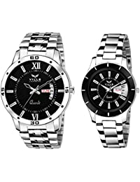 Vills Laurrens Combo of 2 Watches for Couple