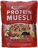 IronMaxx Protein Müsli Haselnuss | Veganes Fitness Müsli laktosefrei und glutenfrei | Eiweiß Müsli mit Haselnussgeschmack | 1 x 2 kg