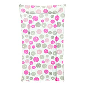 Kit for Kids Baby Changing Mat with Buttons (Pink)