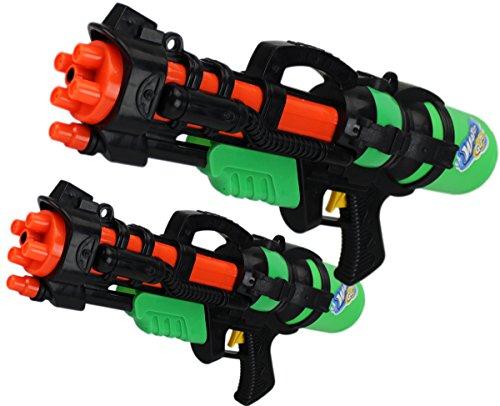 GYD XXXL XL Wassergewehr Super Shooter Splash Boomber V2 im Doppelpack Papa - Sohn Edition