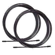 BODYMATE Cordes à Sauter Premium - 2 Cordes de Remplacement