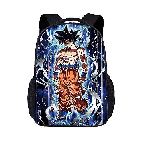 Dragon Ball Zainetti per Bambini Zaino da viaggio Zaino da viaggio Zaino casual Zaino da trekking Hipster Daypack (Color : A02, Size : 43 X 30 X 15cm)