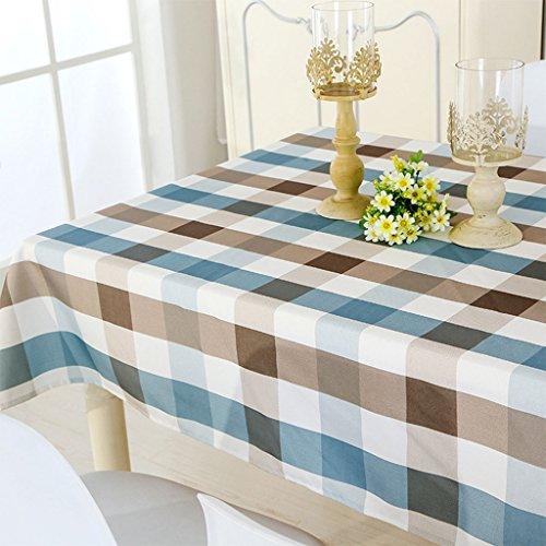 GWELL Wachstuch Tischdecke Wasserdicht Eckig Abwaschbar Schmutzabweisend Robust Tischtuch...