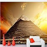 Meaosy Ägypten Wüste Sonnenaufgänge Und Sonnenuntergänge Natur Fototapete, Wohnzimmer Schlafzimmer Tv Hintergrund Bar Café-120X100Cm