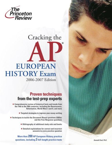 The Princeton Review Cracking the Ap European History Exam 2006-2007