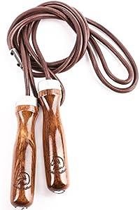 Corde à sauter en cuir Golden Stallion : pour un entraînement à la corde à sauter authentique