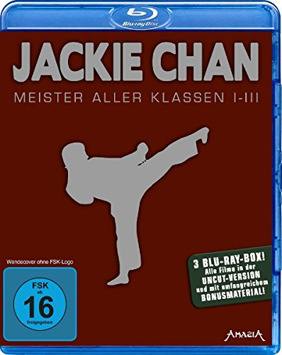 Jackie Chan - Meister aller Klassen 1-3 [Blu-ray] (Jackie Chan Blu-ray Collection)