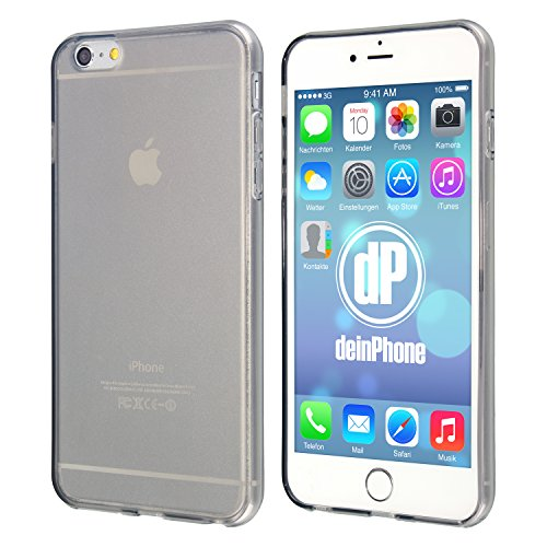 "deinPhone Étui pour iPhone 6 (4,7"") noir transparent"