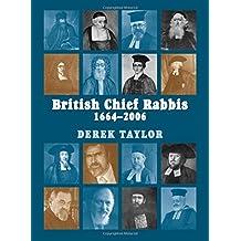 British Chief Rabbis: 1664-2006