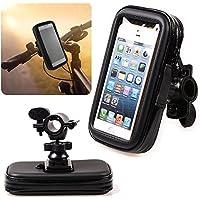 "Universal 5.2""-5.5Teléfono GPS para bicicleta moto manillar de bicicleta Soporte Bolsa Caso para iPhone 6Plus Note 3/4S5/6LG G3/4Sony Z3/5M9"