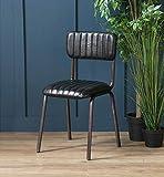 Wo Saints Go Die Diner | Esszimmerstuhl Stühle Esszimmerstuhl | Retro | Stühle, Leder | Schwarz | Luxus Esstisch Stühle | Bar Stuhl | Schwarz Bar Stuhl