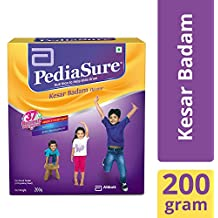 PediaSure Health & Nutrition Drink Powder for Kids Growth - 200g (Kesar Badam)