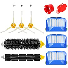Powilling Kit Cepillos Repuestos de Accesorios para IRobot Roomba Serie 600 610 620 650