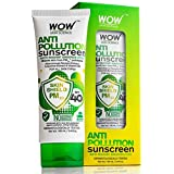 WOW Anti Pollution SPF40 Water Resistant No Parabens & Mineral Oil Sunscreen Lotion, 100mL