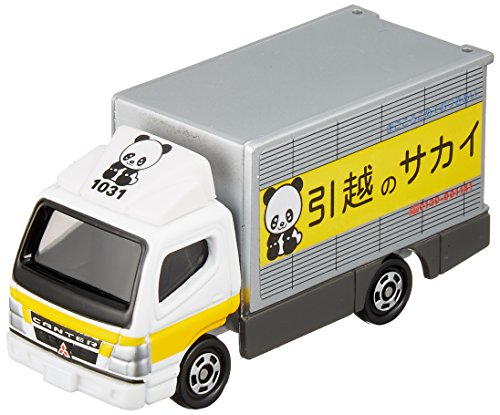 Takara Tomy Tomica #029 Mitsubishi Canter House Move