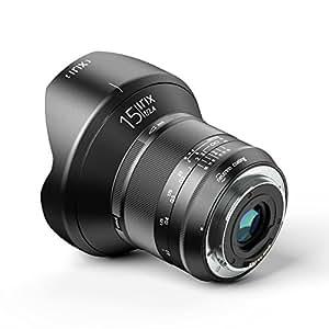 Irix IL-15BS-NF Ultraweitwinkelobjektiv Blackstone 15mm f2,4 für Nikon F (95mm Filtergewinde  Vollformat, leuchtende Beschriftung, optimierter Fokusring)