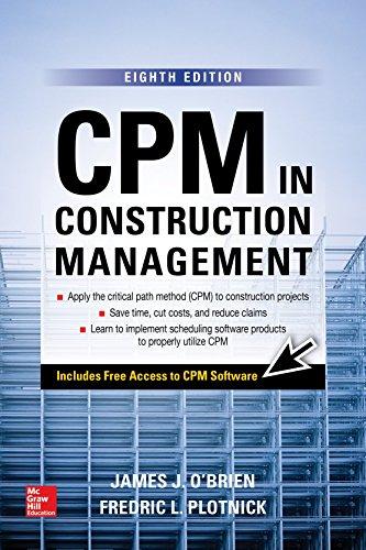 CPM in Construction Management, Eighth Edition (P/L Custom Scoring Survey)
