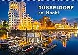 Düsseldorf bei Nacht (Wandkalender 2019 DIN A2 quer): Faszinierende Bilder aus Düsseldorf zur Blauen Stunde (Monatskalender, 14 Seiten ) (CALVENDO Orte) - Roland Abel
