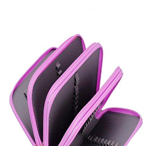 Penna Matita Familizo Colori Disegno portatile schizzo matite della penna della cassa del supporto del (Scrittura Delle Donne Manica Lunga)