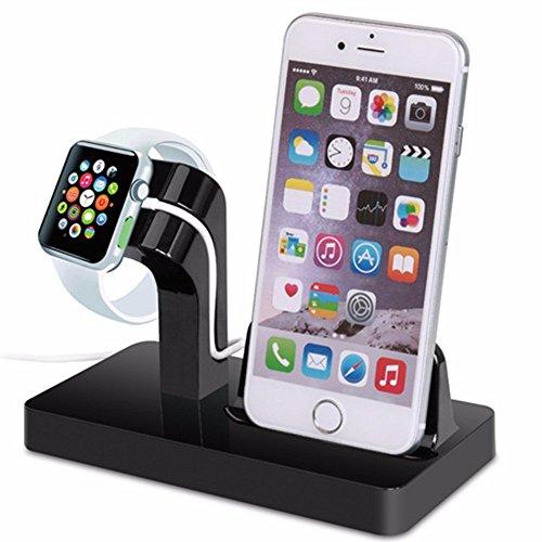 Iiniim Apple supporto di ricarica per iPhone 5S/6/6S Plus/7/7Plus, iWatch