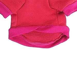 Zrong Vetements Sweat-shirt en Coton Crâne Manteau d'hiver pour Chien (XS à L)
