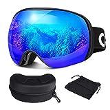 Oladwolf Skibrille, Herren und Damen Brillenträger Ski Snowboard Brille,...