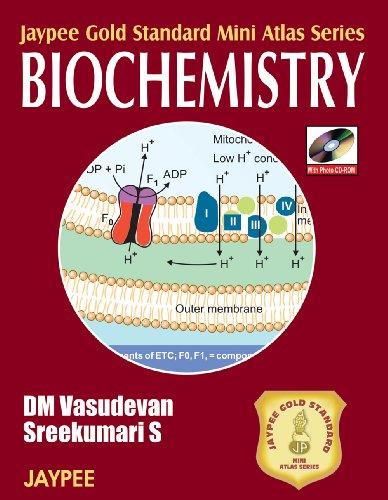 Jaypee Gold Standard Mini Atlas Series: Biochemistry por D. M. Vasudevan