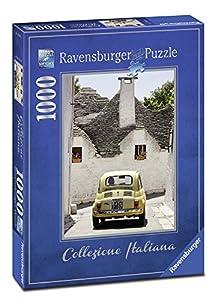 Ravensburger- Puzzles 1000 Piezas, Colección Italiana, Alberobello (19665)