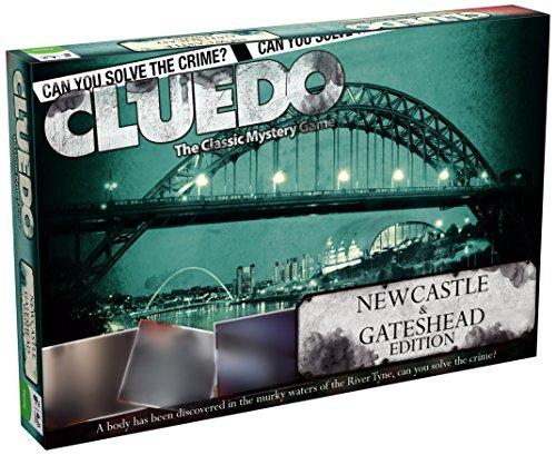 Cluedo Newcastle and Gateshead Gameboard