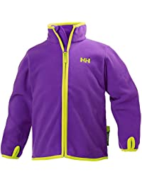 Helly Hansen K Daybreaker Fleece Jacket - Chaqueta unisex para niños, color morado (princess purple), talla 98/3
