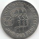 DDR Jägernr: 1558 1975 A Stgl./unzirkuliert Neusilber 1975 5 Mark Jahr der Frau (Münzen für Sammler)