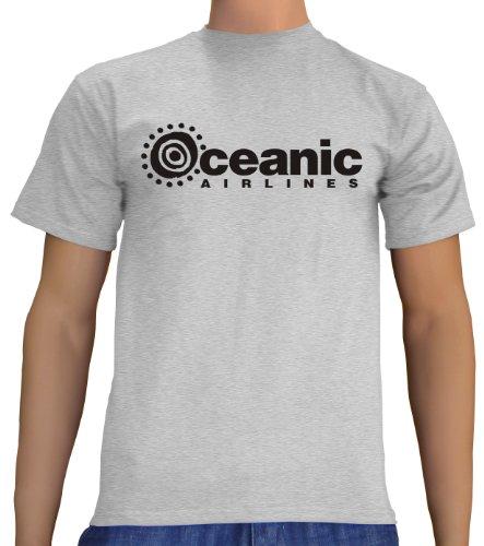rren T-Shirt Oceanic Airlines - Lost Dharma, ash, S, B1751 (Ash-halloween-kostüm)