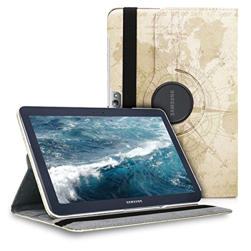kwmobile Samsung Galaxy Note 10.1 N8000 / N8010 Hülle - 360° Tablet Schutzhülle Cover Case für Samsung Galaxy Note 10.1 N8000 / N8010