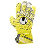 uhlsport Herren Elm Unlimited Soft SF Torwart-Handschuhe, Lite Fluo Gelb/Griffin Gr, 9.5